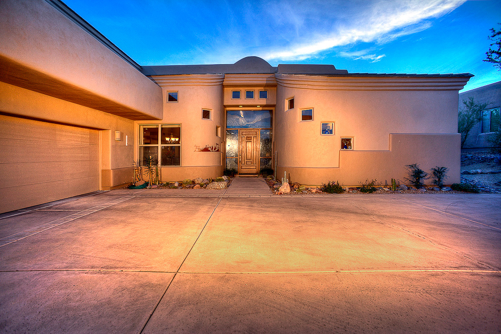 Twilight real estate photography phoenix