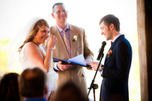 vows written by the couple