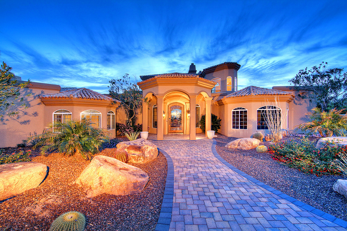 Phoenix Twilight Real Estate Photographers