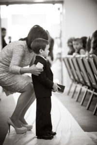 ring bearer getting instructions