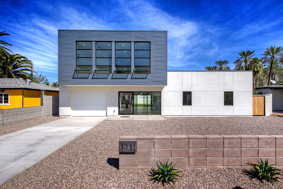 Phoenix real estate photography arcadia modern luxury homes for Modern home builders phoenix