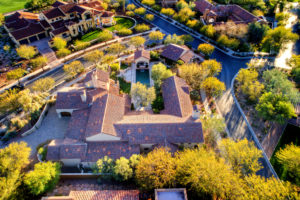 Real estate aerial scottsdale