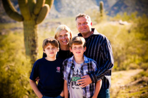 family portraits for holiday cards