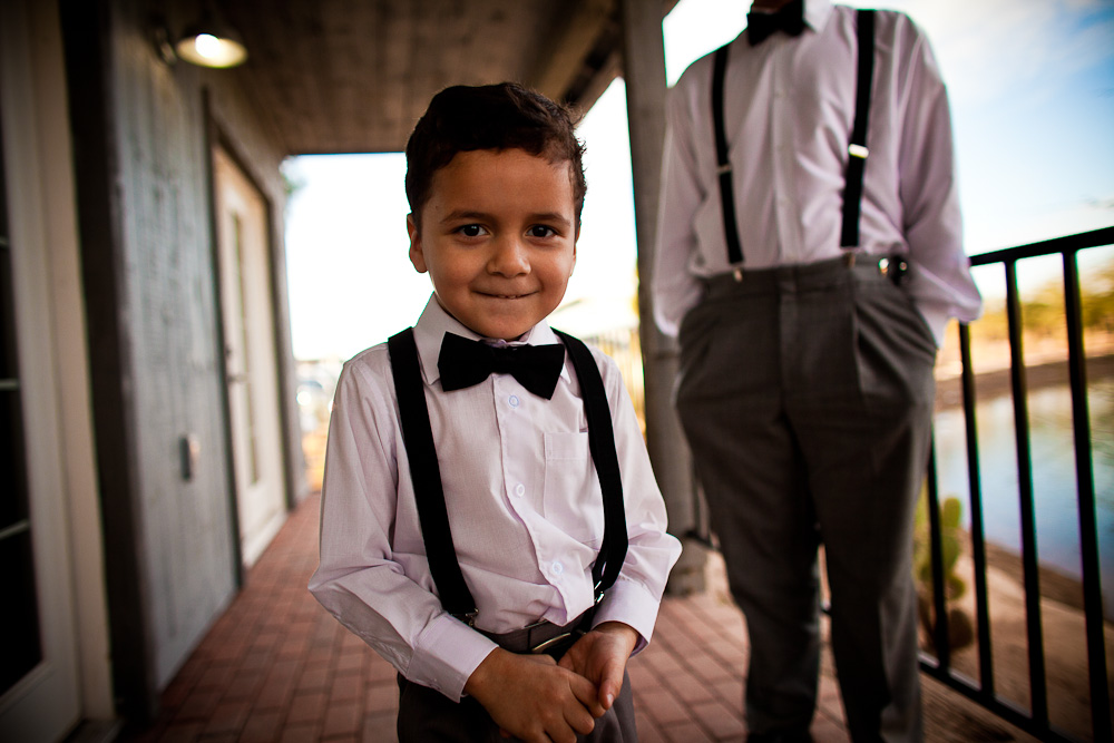Little groomsmen