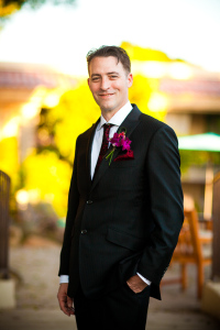 portrait of the groom