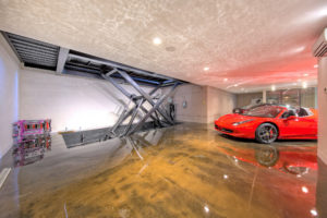 car elevator in home